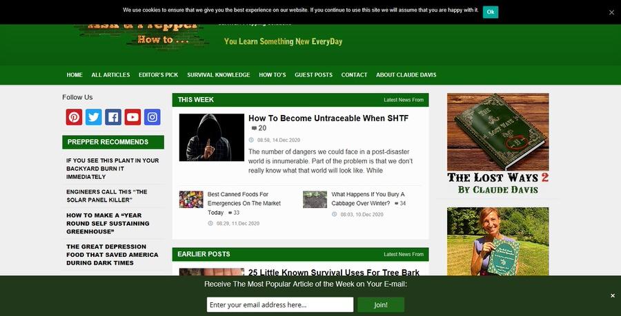 Best Prepper Websites: The Ultimate List For 2021 11