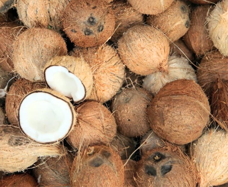 How To Open A Coconut? Survival Life Hacks 35