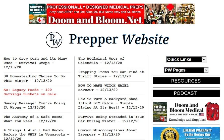 Best Prepper Websites: The Ultimate List For 2021 48